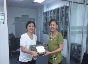 Training Director Loun Ling (left) and Marina