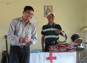 Bhibin (left) and Dil Prasad